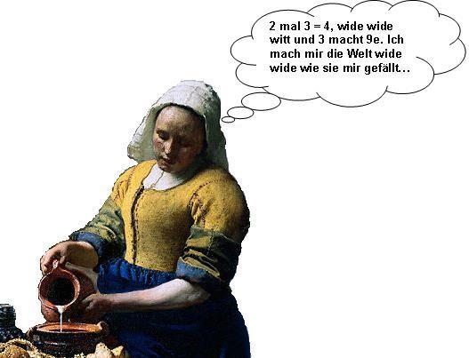 """Jan Vermeers """"Melkmeid"""""""