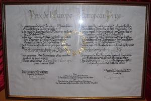 Die Urkunde von 1961