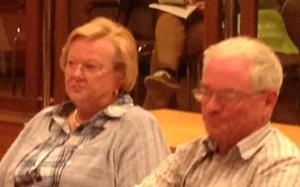 Ein Traumpaar waren die beiden noch nie: Margret Jennrich und Heinz-Werner Rose