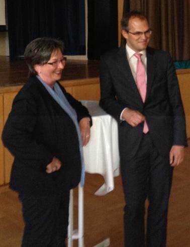 Gehen in die Stichwahl am 15. Juni: Ute Borchers-Seelig und Christian Carstensen