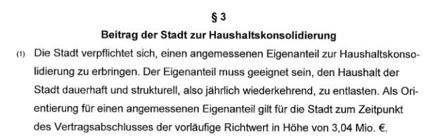 """Ist """"einmalig"""" ein Synonym für """"jährlich wiederkehrend""""? (Auszug aus dem Konsolidierungsvertrag zwischen dem Land Schleswig-Holstein und der Stadt Schwarzenbek vom 22.01.2013)"""